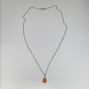 925 gold plated sterling silver necklace